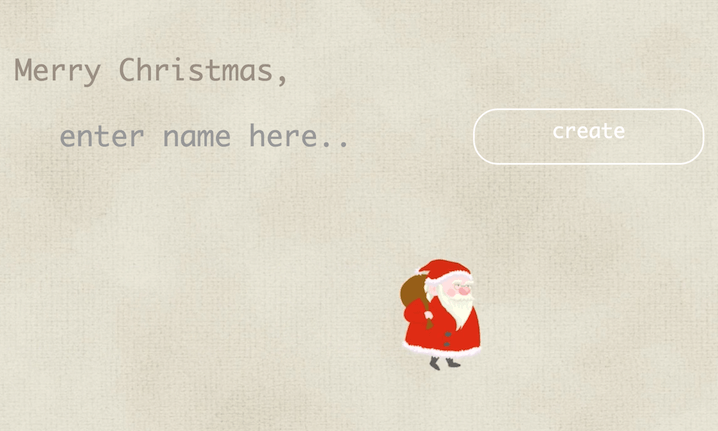 Header image for Personalised Christmas video