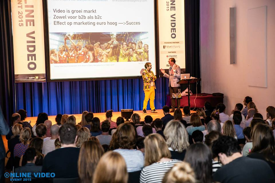 Header image for Online Video Event 2015 groot succes!