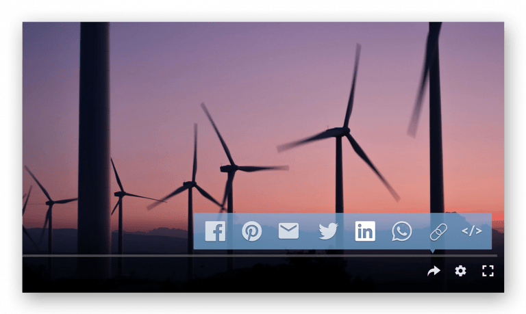 Video distribution social and email