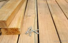 nails in a floorboard