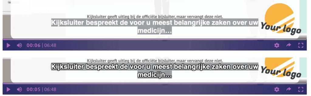 Ondertiteling volgens de webrichtlijnen
