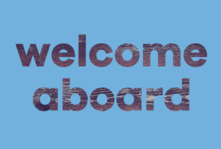 Onboarding video welcome