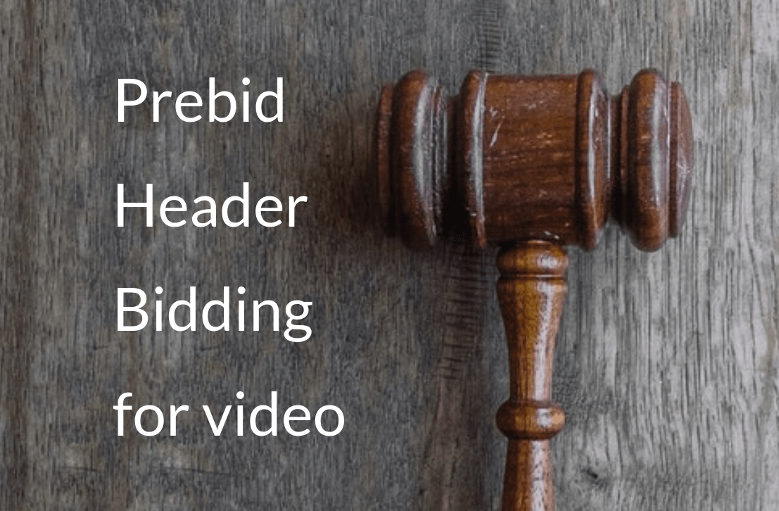 Header image for Prebid Header Bidding for Video