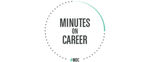 Minutes on Career logo