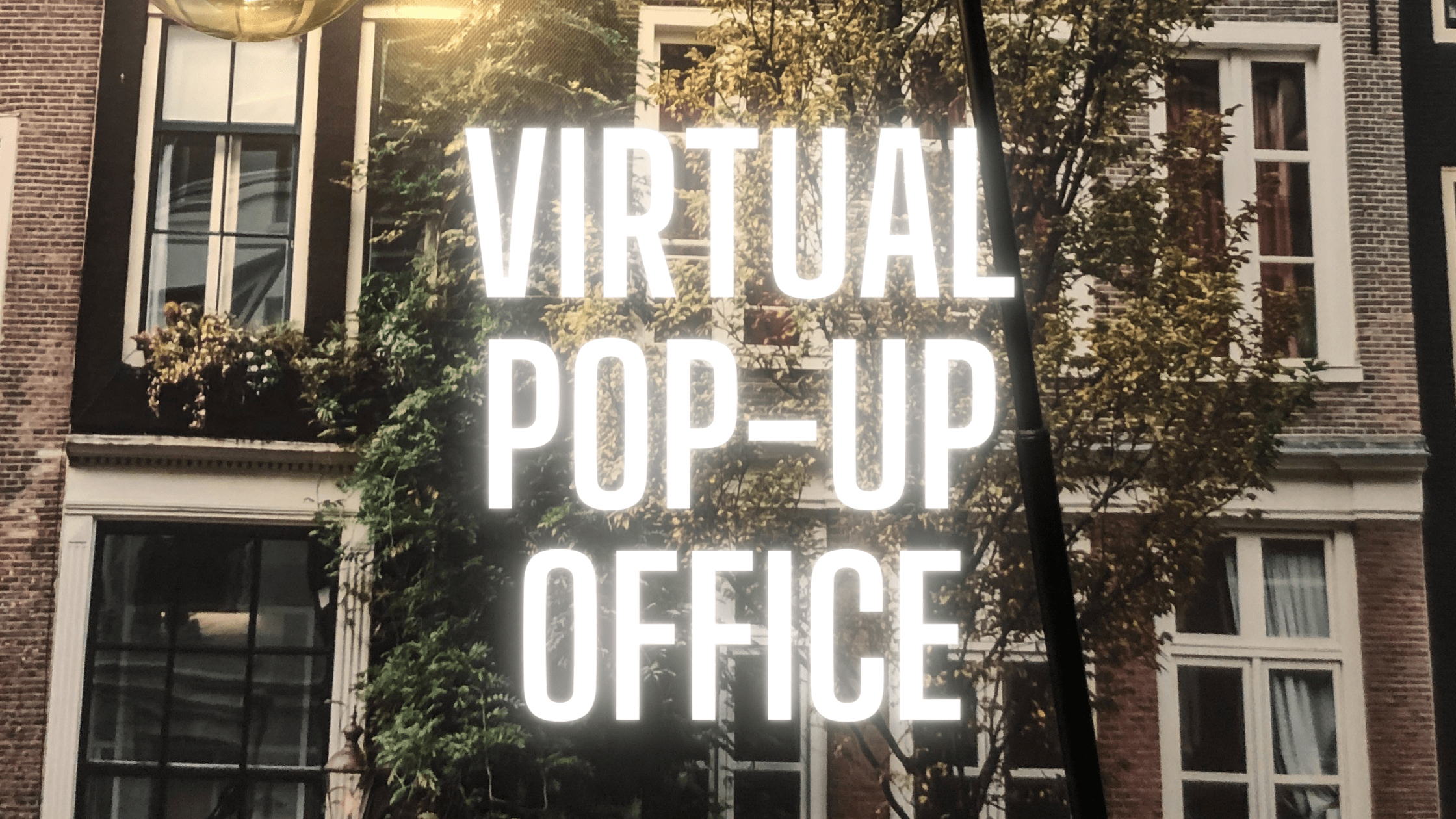 Header image for Blue Billywig launches Virtual Pop-Up Office